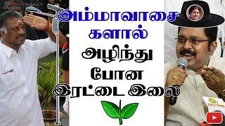 Ammavasai's master plan to finish ADMK - 2DAYCINEMA.COM