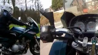 Yamaha Diversion 900 - owner about his bike