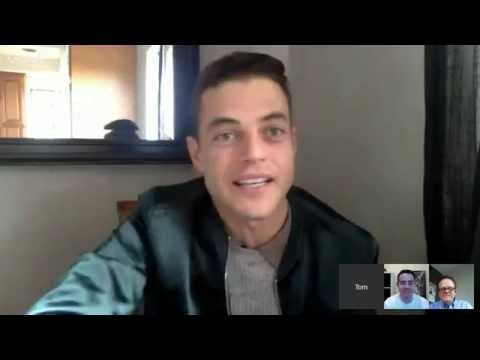 Rami Malek chats about the mystery and intrigue of new drama 'Mr. Robot'