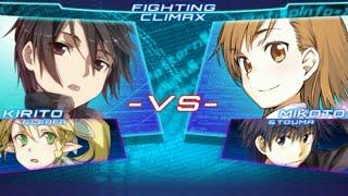 『電撃文庫 FIGHTING CLIMAX』 プレイ動画 part1
