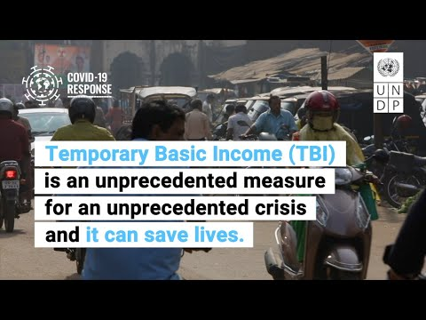 Temporary Basic Income to protect the world's poorest people could slow the surge in COVID-19 cases