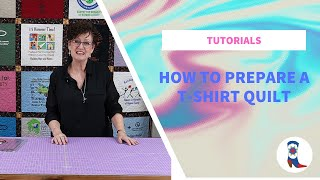 How to Prepare a T-Shirt Quilt