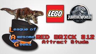 Lego Jurassic World - Red Brick #12