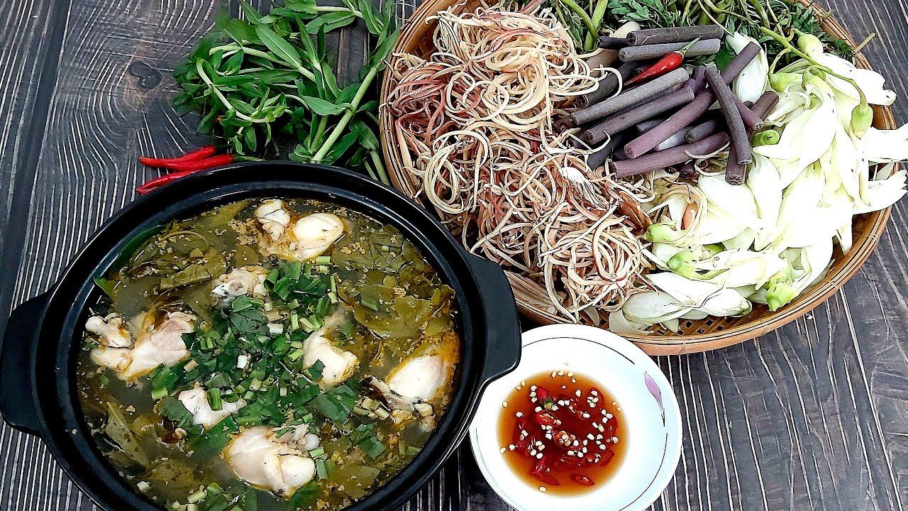 Cách làm món Lẩu Ếch Lá Giang thơm ngon không bị tanh cả nhà đều mê của Hồng Thanh Food