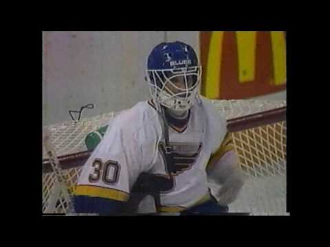 St. Louis Blues vs. Detroit Red Wings, Game 7 Norris Division Semi-Finals - KPLR 4/16/1991