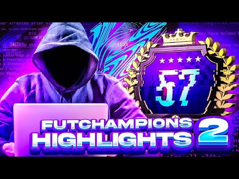 LOSING TO HACKERS?! 😭 TOP 200 FUT CHAMPIONS HIGHLIGHTS! PART 2 - FIFA 21 Ultimate Team |