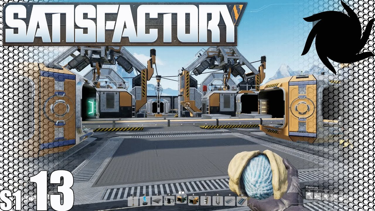Satisfactory - S01E13 - Even More Reinforced Plate Production
