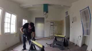 Kitchen Remodeling - Day 7 Of 17 - More Drywall, Kitchen Cabinet Installation