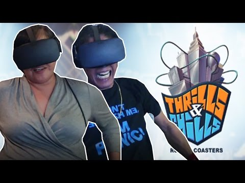 MY FAMILY RIDES THE NEW OCULUS VR ROLLER COASTERS / OCULUS VR