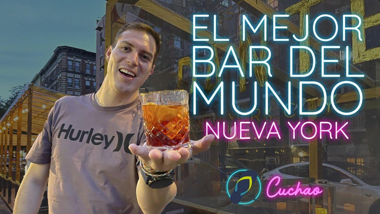 Negroni en DANTE New York I El mejor bar del MUNDO