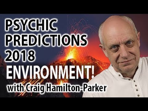 Environment: Psychic Predictions for 2018