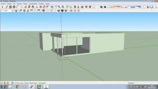 Como Crear una Casa en SketchUp (parte 1)