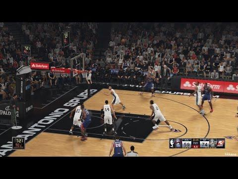 NBA 2K15 Atlanta Hawks Vs San Antonio Spurs 05-11-2014