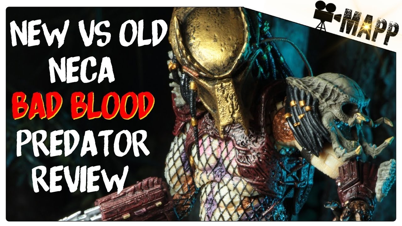 NECA Bad Blood Predator Comparison & Review (Action Figure)