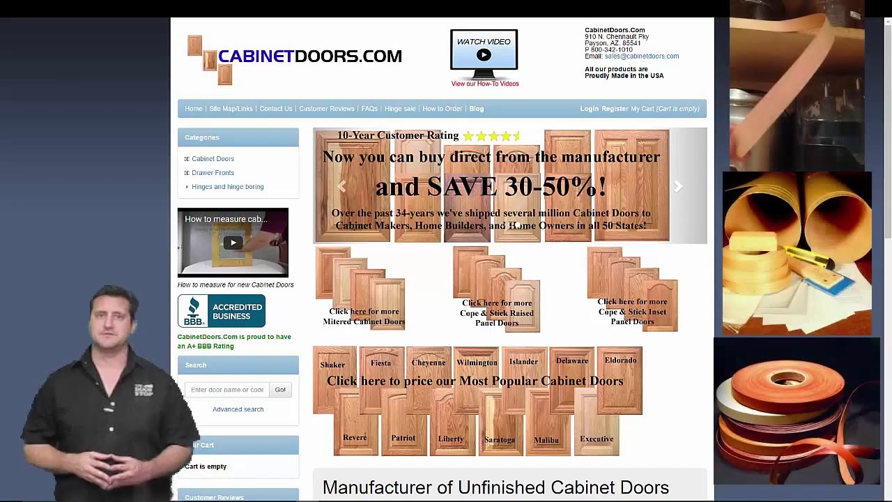 Attirant How To Find New Cabinet Doors For Cabinet Refacing. Cabinetdoors.com