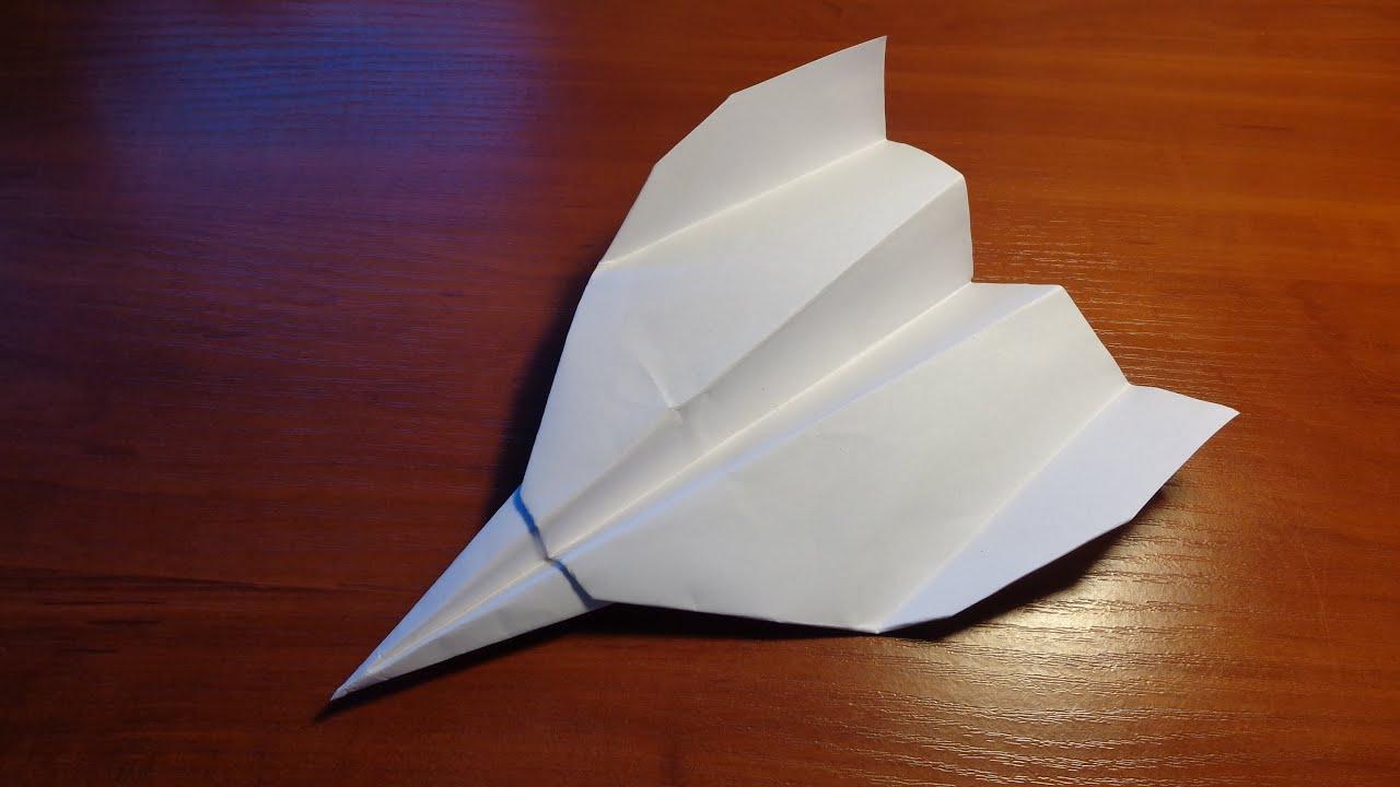 Как сделать бумажный самолетик который долго летает Корки. lol 18