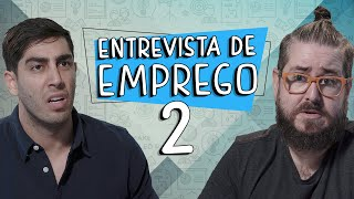 Entrevista de Emprego 2 - DESCONFINADOS (Erros no Final)