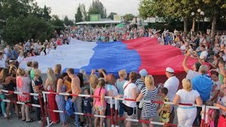 Флаг моего государства (поет Юлия Коновченко, Судак, Крым)