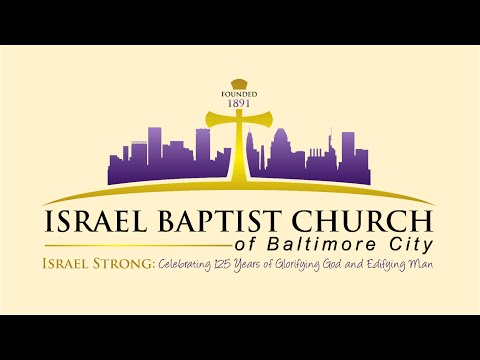 Israel Baptist Church's 125th  Anniversary Promo Video
