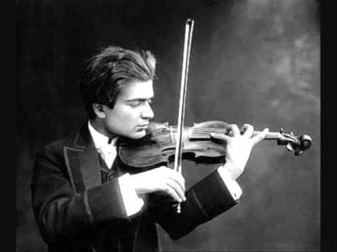 Bronislaw Huberman - Paganini: La campanella