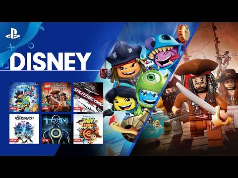 Disney Comes to PlayStation Now | PS4