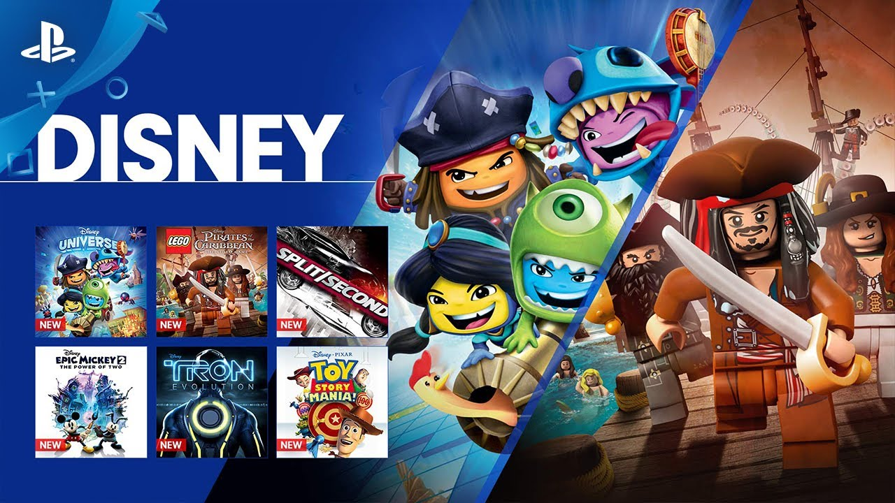 Games That Come With The Ps4 : Disney comes to playstation now ps youtube