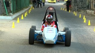 Zero Emission Race Car In Line With Formula SAE Rules - SRM College Students Design - Red Pix24x7