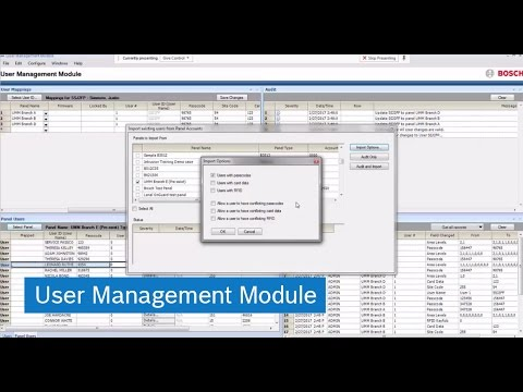 User Management Module