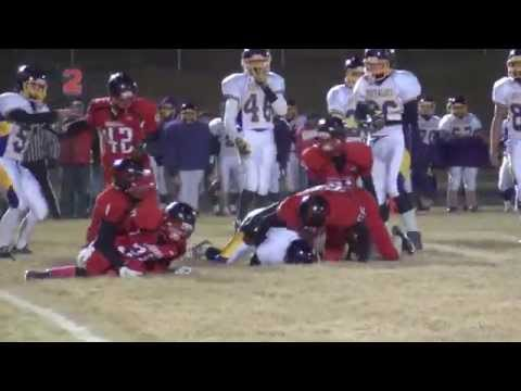 Lyman vs. Stanley Co. FB Playoffs 2014