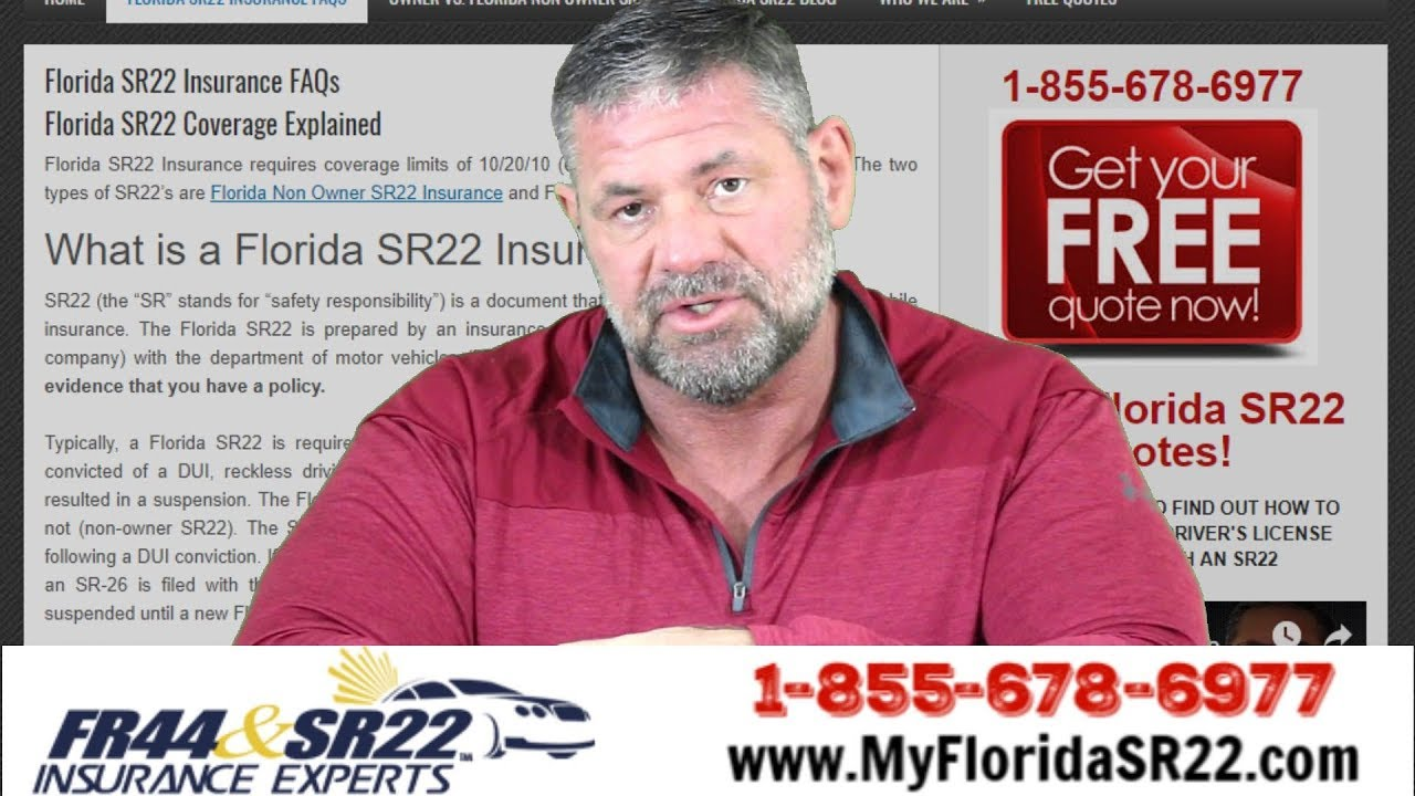 What Is A Florida SR22? - YouTube