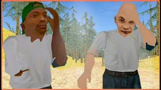 CJ Junior y Gilipollitas se pierden en el bosque - GTA San Andreas Loquendo.