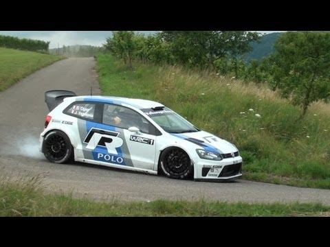 Test VW Motorsport | Polo WRC | Sebastien Ogier | Brauneberg [HD] Devillersvideo