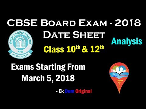 Cbse board date sheet class 10 in delhi