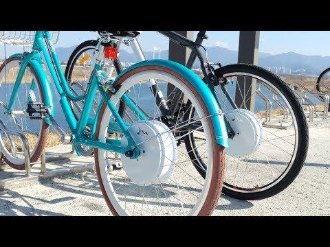 Ebike Hub Motor, Electric Bike Wireless All in One Rear Hub ...