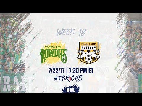 USL LIVE - Tampa Bay Rowdies vs Charleston Battery 7/22/17