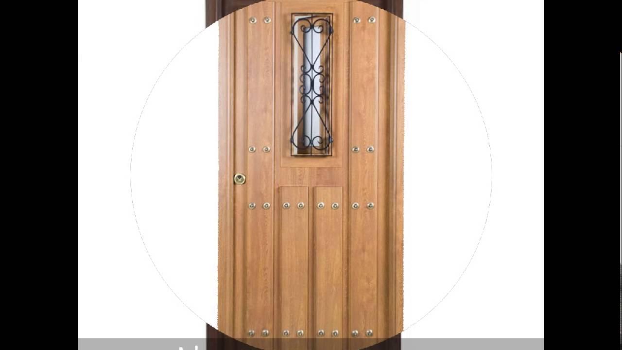Puertas rusticas de exterior ancar caraldiaz youtube for Puertas rusticas exterior baratas