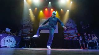 Franqey (France) Popping Judge demo @Vilnius Street Battle 2017