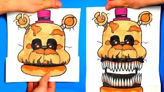 - CREATE YOUR FNAF ANIMATRONICS Five Nights at Freddy s CHALLENGE You cant hide