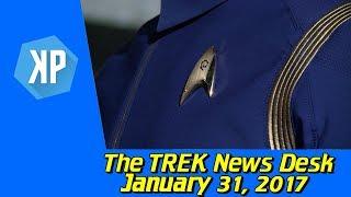 Star Trek Discovery Production Trailer, New Uniform Teased
