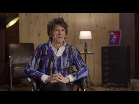 Ronnie Wood from the Rolling Stones interview with Becko from Triple M Sydney - Blue and Lonesome