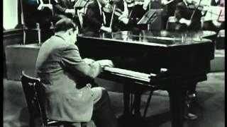 Glenn Gould-J.S. Bach-Brandenburg Concerto No.5-part 1 of 2 (HD)
