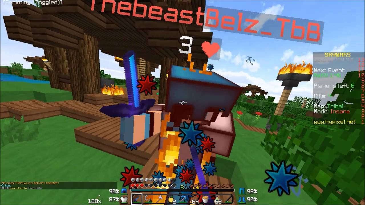 Hypixel Skywars HOW TO WIN EVERY GAME Minecraft Tutorial Skywars - Minecraft skywars spiele