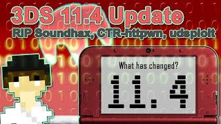 3DS Update 11.4 Released - What has changed for 3DS Hacking? + Downgrading is back?! | #Pixelnews