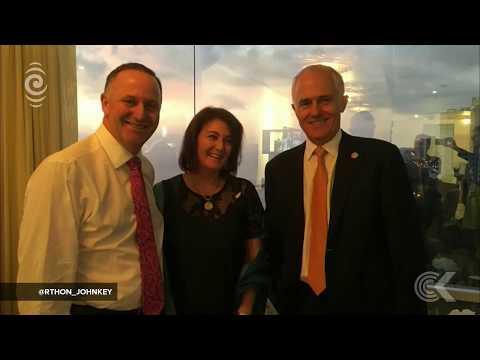 John Key receives Australia's highest honour