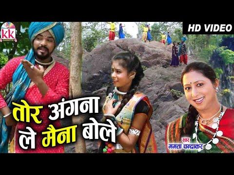 Mamta Chandrakar   Mithlesh Sahu   Cg Song   Tor Angana Le Maina Bole   Chhattisgarhi Geet   AVM