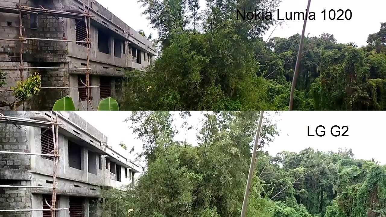 Nokia Lumia 1020 vs LG G2 Camera Sample (Daylight ...