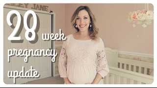 28 week pregnancy update | third trimester + anxiety