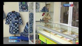 Иконы, картины, игрушки и украшения в выставке губкинской рукодельницы