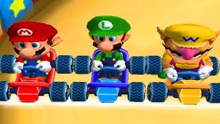 Mario Party 7 - All Racing Minigames
