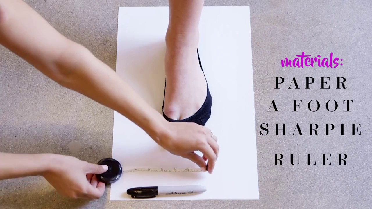 Justfab presents how to measure your shoe size also youtube rh